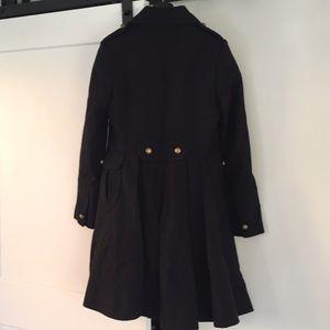 Tahari Jackets & Coats - Tahari black wool pea military coat black 6